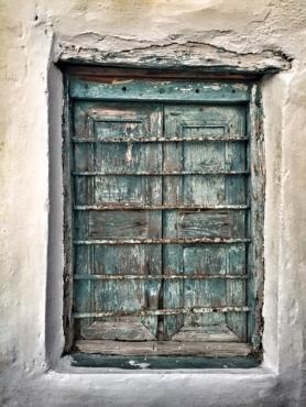 Greek Old Window