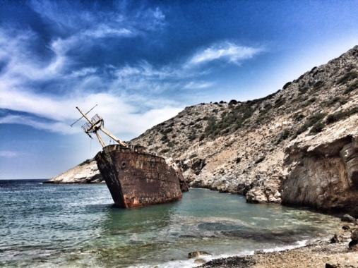 Shipwreck Olympia!