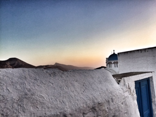 Sunset in Amorgos