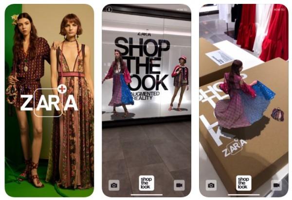 Zara-AR-App