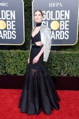 rosamund pike in custom givenchy