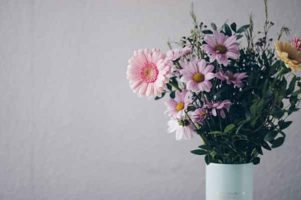 ikebana-pink-flowers